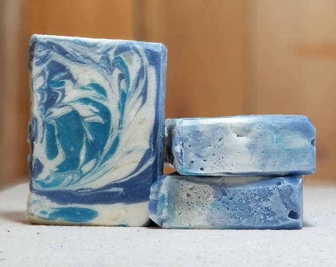 """Lilac Scented """"Beatrice"""" Soap Goddess Loves Shakespeare Soap, vegetarian, lightly scented, yogurt soap, free shipping"""