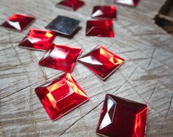 Square Applique ~14 pieces #100532
