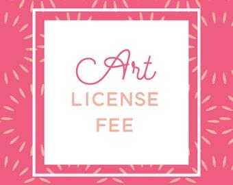Artwork License Fee