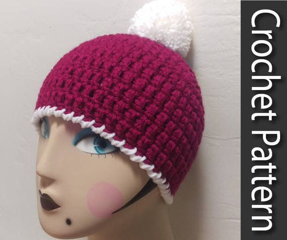 Thick Quick Crochet Beanie Hat Pattern