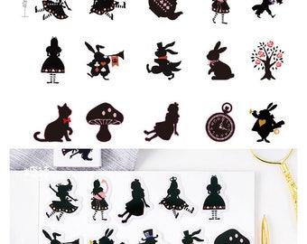 Alice Stickers Pack SM232229 45pcs