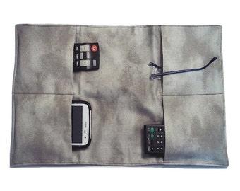 TV Remote Control Holder, ArmChair Organizer, Remote Control Pocket, Couch  Caddy, TV