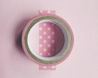 Washi Tape Masking Tape small dots #SP01