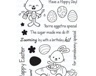 Your Next Stamp Happy Easter Clear Stamps