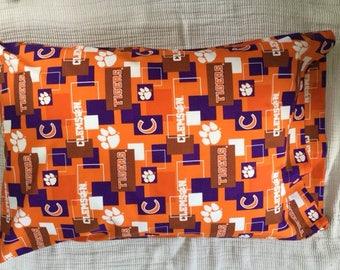 Clemson University Pillowcase Queen
