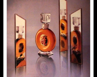 1984 Bal a Versailles Perfume Ad - Jean Desprez - Wall Art - Home Decor -  Retro Vintage Fragrance Advertising