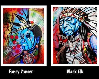 Signed Fine Art Prints - Lakota Artwork