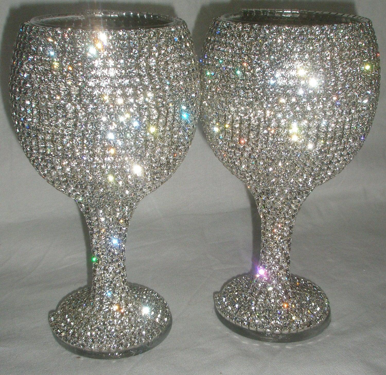 decor wine glasses decorative pin bottles hand easter painted bottle