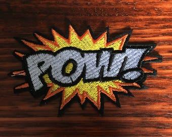 POW! - Iron on Appliqué Patch
