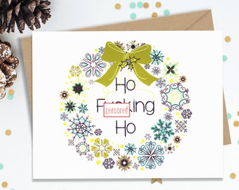 Mature funny holiday card christmas cards blank greeting mature funny holiday card christmas cards blank greeting cards funny card for her m4hsunfo