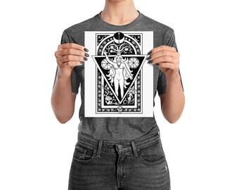 Goddess Print Poster