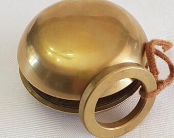 Vintage Brass Yo Yo Toy