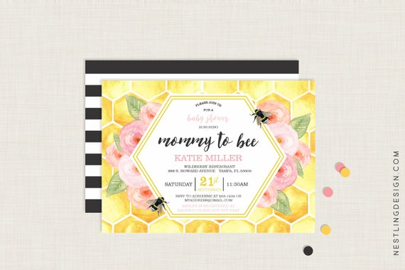 Mommy to bee baby shower invitation mommy to bee invitation like this item filmwisefo Choice Image