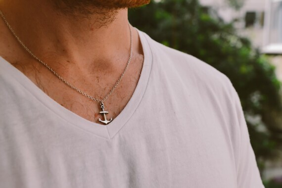 Halskette anker herren
