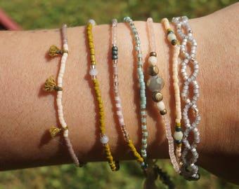 Set of Seven Bracelets