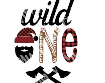 Wild One SVG for print and cut or htv on a shirt or bag DIGITAL FILE only