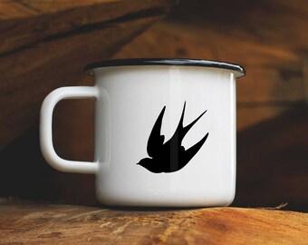 Swallow Bird Decal, Swallow Bird Sticker, Macbook Decals, Hirundinidae Decals, Laptop Decals, Car Decals, Wall Decals