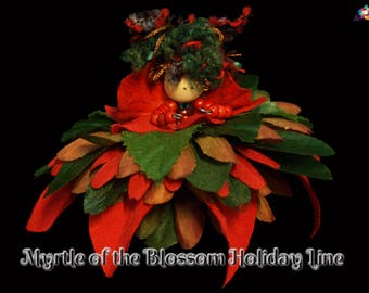 Myrtle of the Blossom Holiday Line, Fairy, Faerie, OOAK, Doll