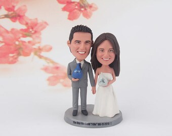 Funny wedding cake topper, funny wedding cake topper for best friends, personalized funny wedding cake topper, unique wedding cake topper