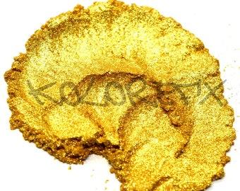 Sparkling Gold Pearl Pigment  Powder