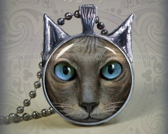 NH2 Peterbald Cat pendant