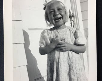1940s Laughing Girl