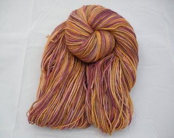 Hand Painted Dyed Merino Bamboo Sock Yarn