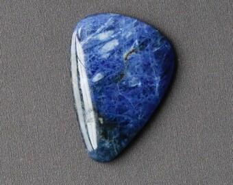 Sodalite Stone Cabochon - Giant Freeform