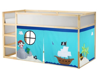 Pirate theme bed tent