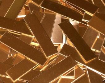 Bronze Tags - 22 Gauge, Stamping blank, Metal Stamping, Bopper, Rectangle blanks, ring blanks, bar blanks