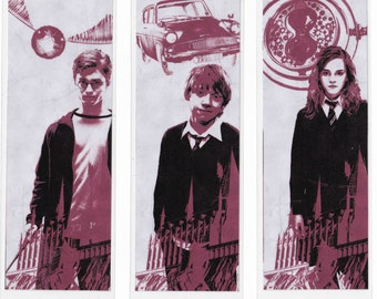 Character Bookmarks inspired by Harry Potter