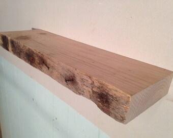 Set of 2, Floating Shelves, Reclaimed Wood Shelves, Reclaimed Wood Floating Shelves