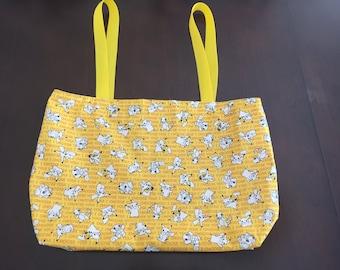 Yellow Pokemon Tote Bag