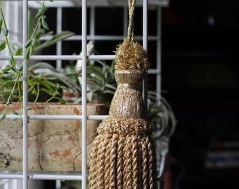 Large Gold Fringe Tassel