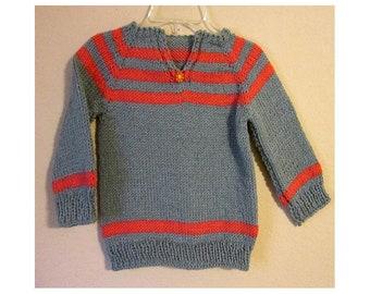 Sweater, Handknit no.1803V