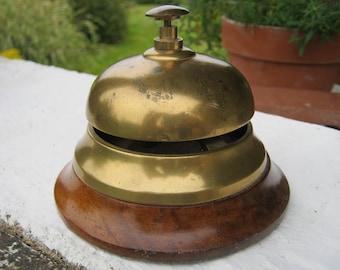 Shop Counter Bell, Hotel Reception Bell, Brass Service Bell