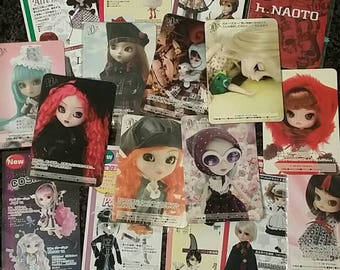 Pullip Dal Jun Planning Collectors Cards + New Release Flyers 2005-2007 Blythe Byul Limited Edition