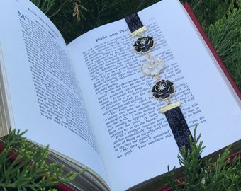 Three Flower Bookmark