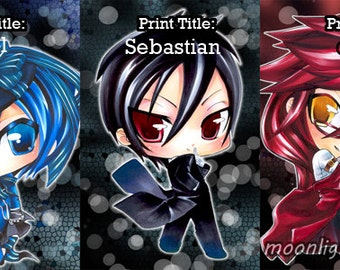 Black Butler Chibi Prints