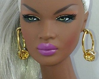 Doll fashion earrings one size fits all!