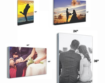 Custom Canvas Prints • Made to Order • Wedding • Family • Portraits • Art •  Set Up and Shipping Included