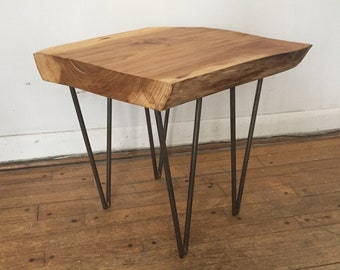Grey elm coffee table/end table