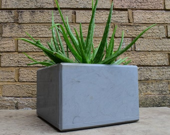 Natural Stone Flower Pot Plant Box