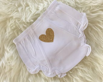 Baby girl bloomers diaper cover ruffle bloomers