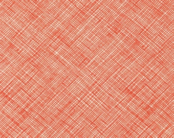 Architextures - Crosshatch Tangerine - Carolyn Friedlander - Robert Kaufman (AFR-13503-147)