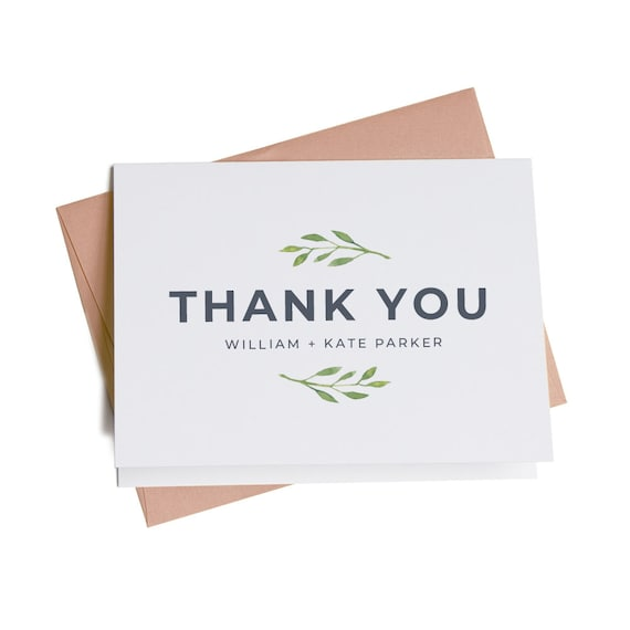 Business thank you cards personalized thank you cards thank like this item colourmoves Choice Image