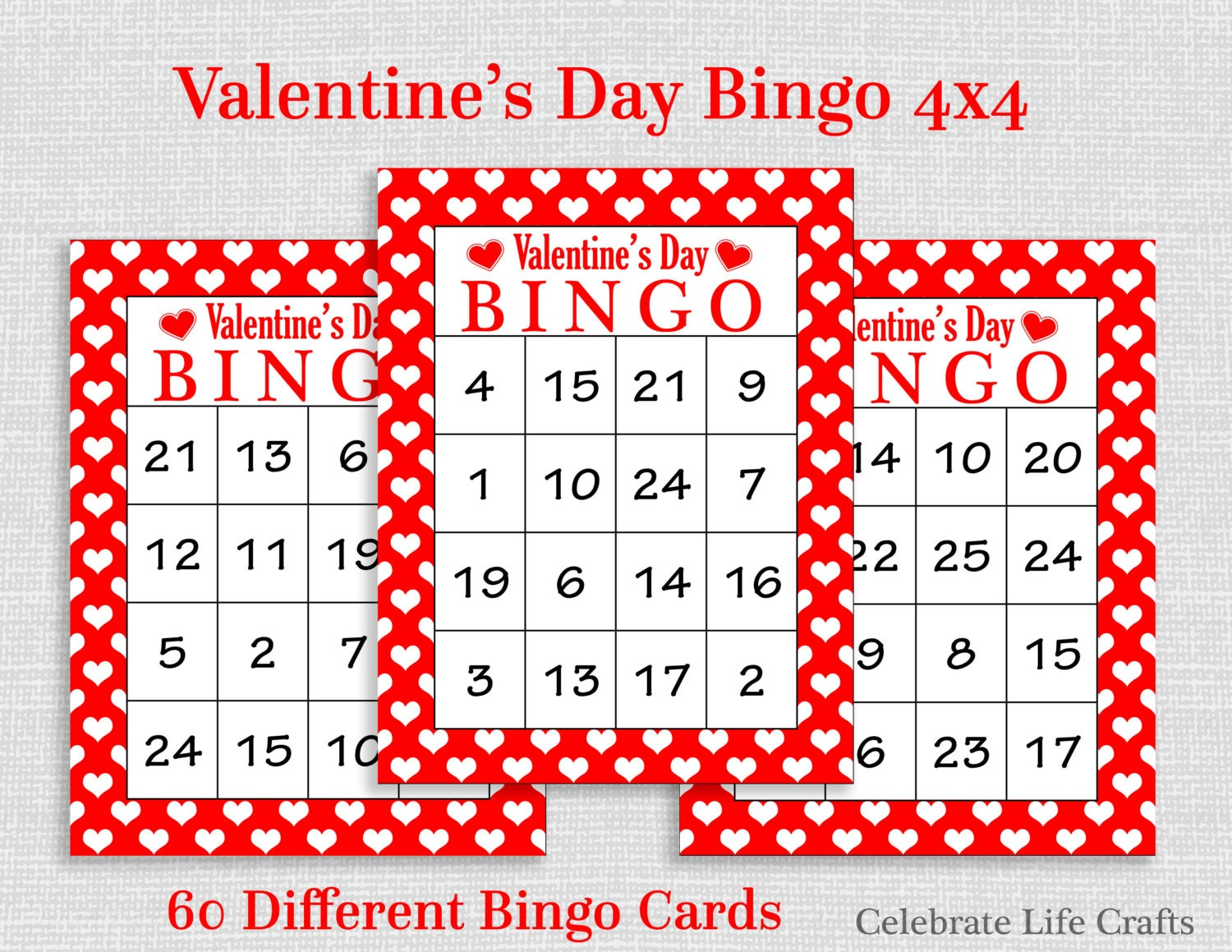 Effortless image with regard to printable valentines bingo cards