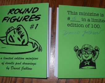 The do it yourself doodler book round figures 1 by david jablow doodle pad minizine solutioingenieria Images