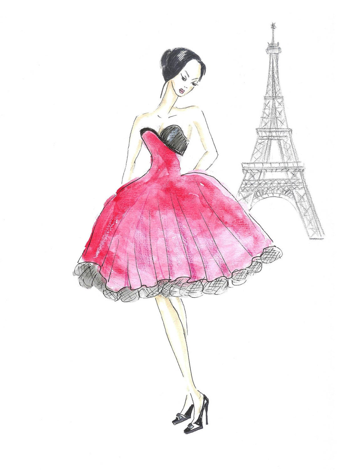 Womens Fashion Illustrations To Create Your Own Designs