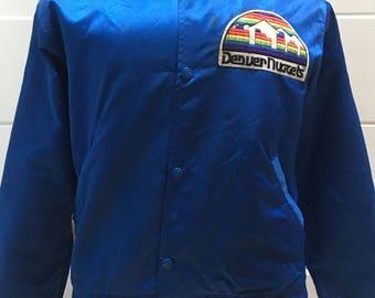 Vintage Denver Nuggets Satin Starter Jacket